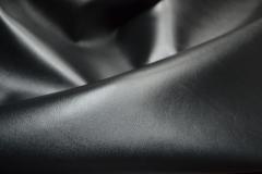 «Деймос»  -  кожа «наппа» для верха обуви лицевая гладкая черная из КРС
