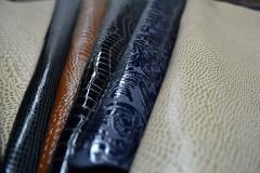 «Симба 2» - кожа лаковая  для верха обуви  из спилка  от КРС