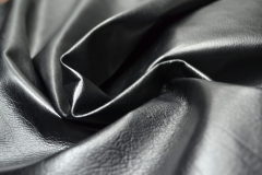 Century (leather for clothes black from small raw materials)